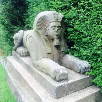 Stone sphinx