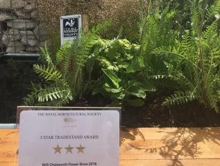 Derbyshire Wildlife Trust Garden – RHS Chatsworth2018