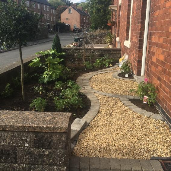 front garden, wirksworth